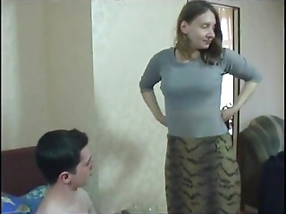 Enchanting non-professional pair fuck untill climax in a wild ottoman sex discharge