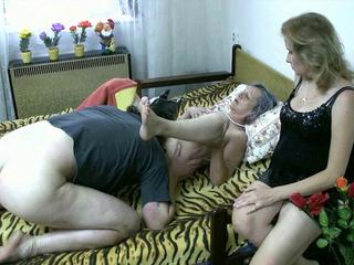 Mature Old slut sex with a stud
