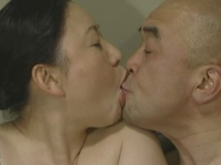 Aged Japanese lady drilled
