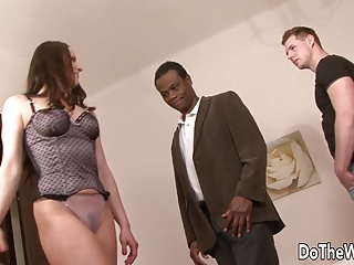 Excited wife acquires ace fuck by darksome dude