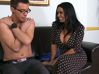 Oral-service to one of her students