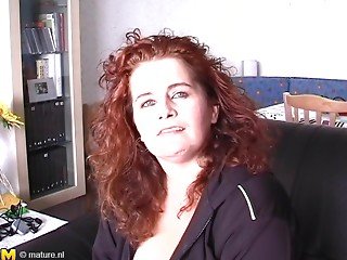Wonderful closeup discharge of sexy booty matured chick being ravished
