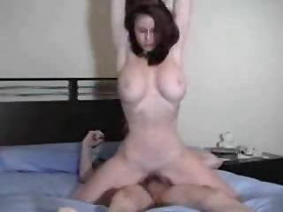 Elder non-professional large tit mother I'd like to fuck wife ride wang home sextap