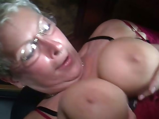 Old bitches and youthful babes take part in hard fuckfest party