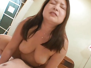 Japanese Aged cowgirl