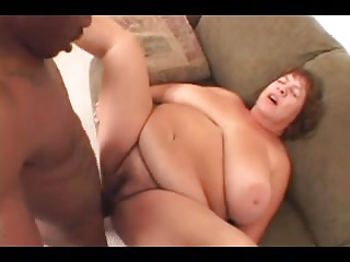 bbw older drilled by big black cock