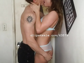 Aaron and Nikky Giving a kiss Movie 2