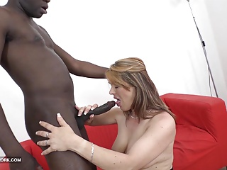 My step mama copulates my dark teacher swallows his sperm oral