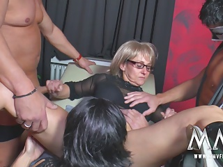 MMV FILMS Dilettante Aged Swinger Party