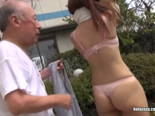 Japanese Breasty Gals Sex Service For Elder Perverts