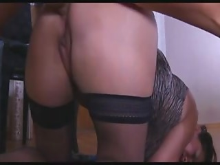 Mother-in-law caught when that guy masturbate